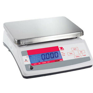 Ohaus V11p3 Valor 1000 Compact Food Scale Cap 3kg Read 0 5g