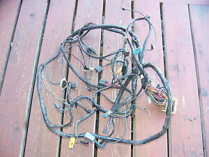 1971 Chrysler Imperial Engine Headlight Wiring Harness Oem