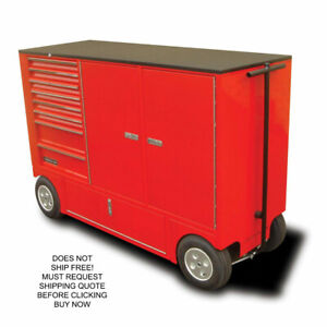 Rsr Small Rolling Mobile Toolbox Storage Pit Box Wagon Cart