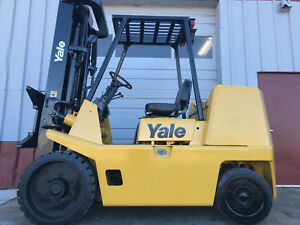 Free Freight 2004 Yale Gc155 15 500lb Cushion Forklift Truck