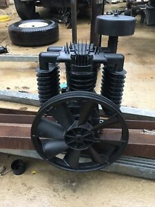 Belaire chicago Pneumatic 5 7 5hp 2stage Cast Iron Air Compressor Pump Model T39