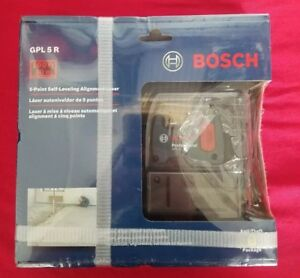 Nib Bosch Professional Gpl 5r 100 Ft 5 Point Self leveling Alignment Laser