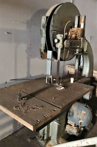 Vintage Tannewitz Gh Band Saw Industrial Machinery