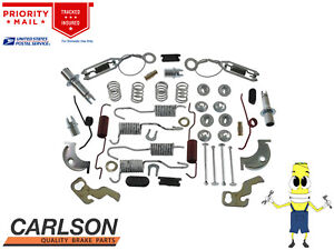 Complete Rear Brake Drum Hardware Kit For Plymouth Duster 1970 1972 W 9 Drums