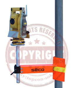 Seco 4852 16 Column Clamp Bracket For Total Station laser Level robotic transit
