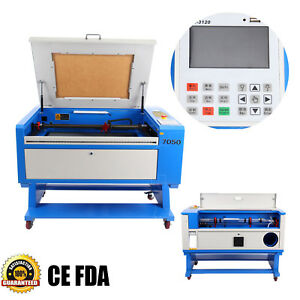 High Precise 80w Co2 Usb Port Laser Cutter Engraving Cutting Machine 700x500mm