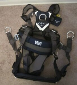 Exofit Nex Dbi Sala Full Body Tower Climbing Safety Harness W Seat 1113191 Med