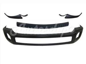 Front Bumper Blk Bar Top Out Molding Pad For Ford Super Duty F250 F350 2011 16