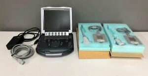 Sonosite M turbo Portable Ultrasound System With P21x L38x And Dock