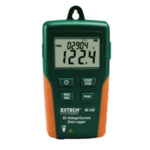 Extech Dl150 Datalogger True Rms Ac Voltage current
