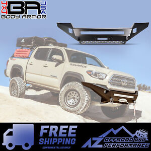 Body Armor 4x4 2016 2019 Toyota Tacoma Pro Series Front Winch Bumper