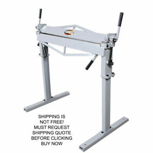 Woodward Fab 36 quot Steel Sheet Metal Work Bend Brake Stand