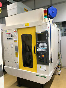 Fanuc Robodrill A t21ie 5 Axis Cnc Vertical Machining Center 24k Spindle 2005