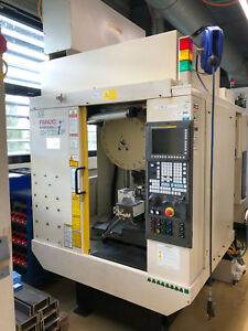 2008 Fanuc Robodrill A t21if 5 Axis Cnc Vertical Machining Center 24k Spindle