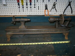 Antique Lathe The Briggs Number 1 Small Hit Miss Engine Only 24 Inches Long