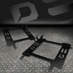 For 2011 2018 Ford Focus Pair Racing Set Seats Base Mount Brackets Rail Track
