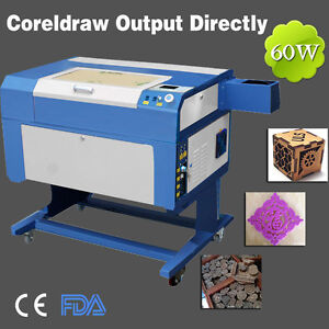 Usb 60w Co2 Laser Engraving Cutting Machine With Red dot Positioning Function