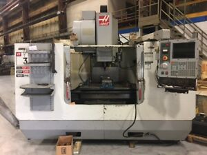 2002 Haas Vf 3b 4th Axis Ready Cnc Vertical Machining Center 7 5k Spindle
