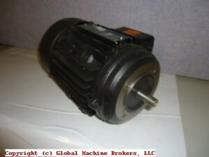 Brook Crompton Ac Motors 1 2 Hp 230 460 V 1100 Rpm 1 25 Diameter Shaft