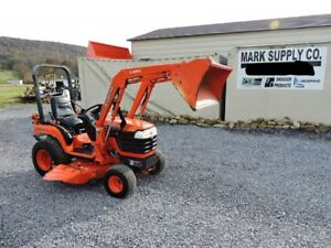 2005 Kubota Bx1830 Sub Compact Tractor Loader Belly Mower 4x4 Diesel Pto 3 Point