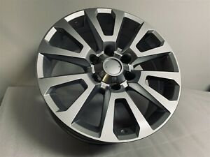 Brand New 18x7 5 Silver Toyota Style Rims Wheels Fits 6x139 7 18mm Et 6 Lug