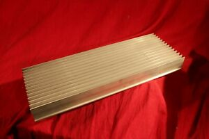Aluminum Heat Sink Large 18 X6 X 2 6 32 Holes As In Pictures