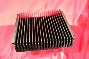 Aluminum Heat Sink Large 10 X10 X 2 3 16 6 32 Holes As In Pictures