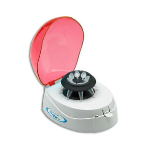 Benchmark Scientific C1008 r Myfuge Mini Centrifuge With Red Lid