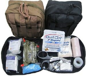 New Fully Stocked Fa187 Military Ifak Medical First Aid Bag