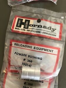 Hornady 190141 Powder Charge Bushing Size 366