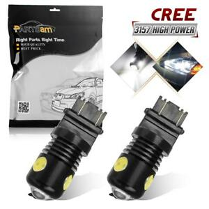 3157 Cree 3 Epistar Cob Backup Reverse Light High Power Projector Led X2