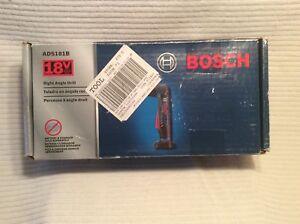 Bosch Ads181b 18v Lithium ion Cordless 1 2 Right Angle Drill tool Only New