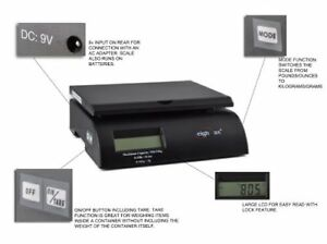 Weighmax Digital Postal Scale Black W 2822 35 blk