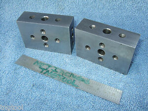 Blocks 2 1 0 X 2 X 3 Machinist Toolmaker Precise Grind Mill Inspect