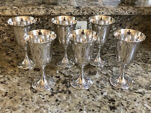 Gorham Strasbourg Sterling Silver Goblet Wine Glass Pattern 1228