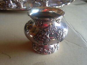 Reed Barton King Francis Silverplate Rare Waste Bowl