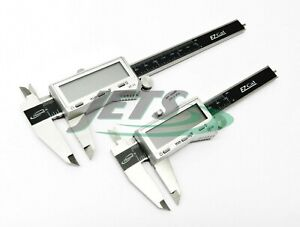 Igaging Digital Caliper Set 4 And 6 Stainless Fractional 3 Way Lcd Ez Cal