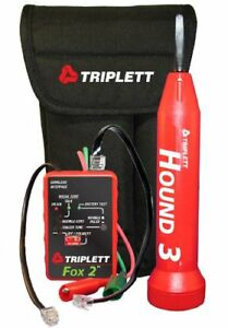 Triplett Fox Hound 3399 Premium Wire And Cable Tracing Kit With Tone Genera