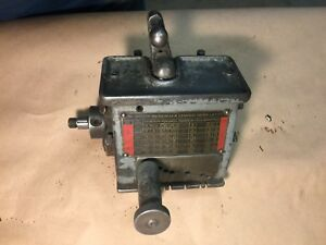 South Bend Lathe 10l Quick Change Gearbox Complete