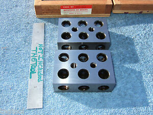 Mitutoyo 1x2x3 Blocks Toolmaker Machinist 961 921 Other Usa Made Blocks Here