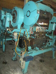 Waterbury Farrel 158 8 Station Transfer Press W twin Disc Clutch