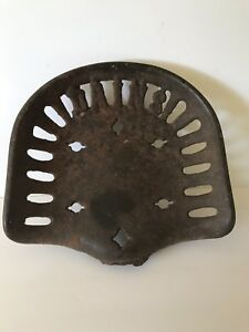 Antique Cast Iron Dains Tractor implement Seat