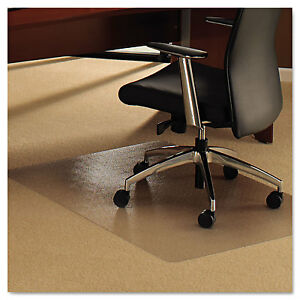 Floortex Cleartex Ultimat Chair Mat For Plush Pile Carpets 35 X 47 Clear