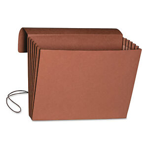 Smead 5 1 4 Accordion Expansion Wallet Legal 15 X 10 Redrope 10 box