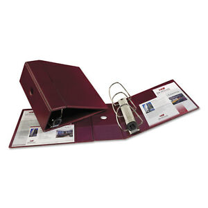 Avery Heavy duty Binder With One Touch Ezd Rings 11 X 8 1 2 5 Capacity Maroon