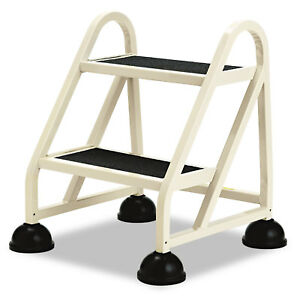 Cramer Two step Stop step Aluminum Ladder 23 High Beige 102019