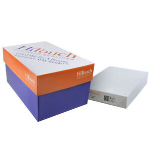 Hitouch Copy Paper 8 5 X 11 20lb 92 Bright 5000 Sheets Spzmop8511