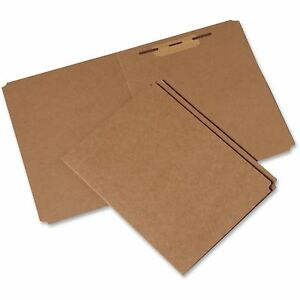 Skilcraft File Folder 3 4 Exp Fastener Straight Cut Ltr 100 pk Kft 9268978