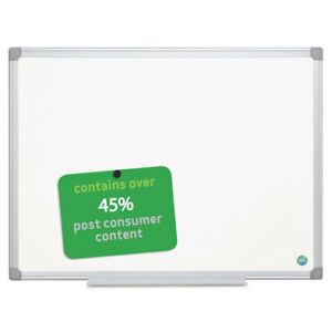 Mastervision Earth Gold Ultra Magnetic Dry Erase Boards 24 X 36 White Aluminum