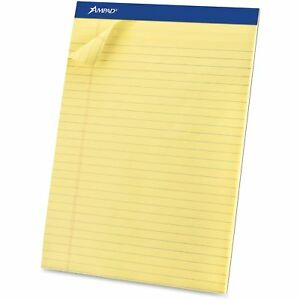 Tops Products Perforated Pad Legal 50 Sheets pad 8 1 2 x11 3 4 Cy 20260